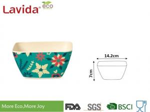 China Recycled Bamboo Baby Bowl Set Smooth Surface More Endurable Than Porcelain Products on sale