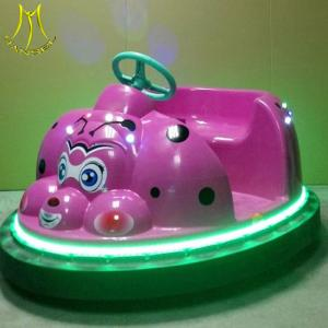 China Hansel bumper  kiddie ride for sale coin operated cheap indoor rides kids game rides on sale