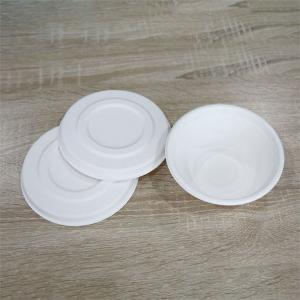 China Natural Disposable Soup Bowl non plastic compostable food bowl on sale