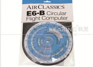 China Kearing E6B Plotter Circular Flight Computer Round Shaped e6b Flying Calculator E6B-CIRC on sale