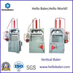 China Hello Baler Waste Paper ,cardboard Baling Machine, Vertical Baler on sale