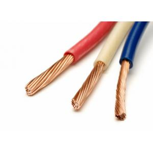 China Low Voltage Copper Building Wire PVC Single Core Cable For Conduit Indoor Use on sale