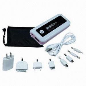 China 5,200mAh Portable Power Bank for iPhone, iPod, MP3/4/5 Digital Frame, Camera and Lighting on sale