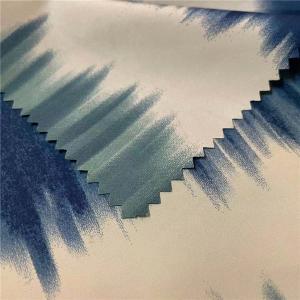 China Polyester Printed Spandex Fabric 75DX150D 160gsm 150cm Custom Spandex Fabric on sale