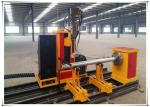 25kw Cnc Pipe Flame Cutting Machine 3 Axis Two Linkage Axises Intersection Cutter