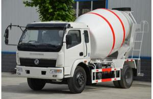 China 1+2 Seats Special Purpose Vehicles Dongfeng Used Concrete Mixer Trucks on sale