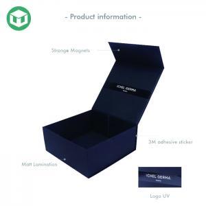 China Custom Logo Hand Made CMYK Magnetic Cardboard Gift Boxes on sale