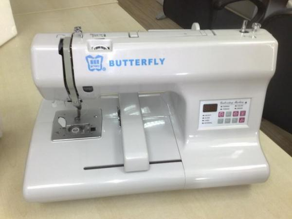 Butterfly Home Computerized Embroidery Machine For Sale Industrial