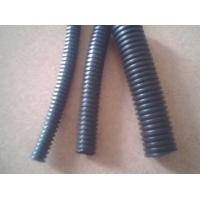 China Bellows Corrugated Cable Sleeve , Black Corrugated Pipe Fire Resistant Hose on sale