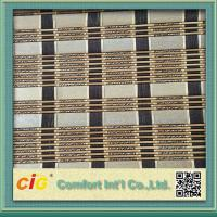 Natural Color Roller Classical Bamboo Mat Window Blinds For Office