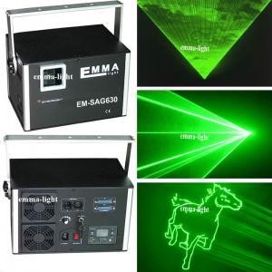 China High power 3000mw single green Animation Dj Laser Performer laser stage lighting, 3 Watt Laser ILDA on sale