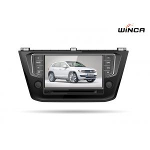 China Black Volkswagen GPS Navigation 2016 8 Inch Screen Vw Touran Dvd Player on sale