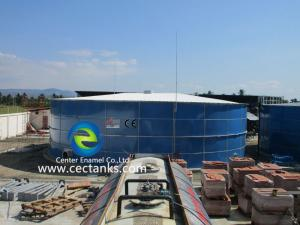 China 0.25mm ~ 0.40mm Double Coating Liquid Gas Storage Tank From 20m³ To 20,000m³ on sale