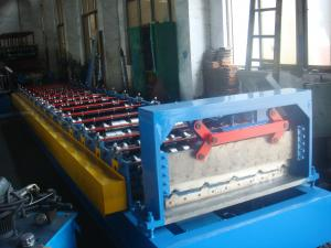 China IBR panel roll forming machine suitable for pre-painted coil, galvanized coil on sale