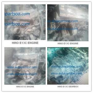 China Used HINO E13C Engine assy, Usada HINO E13C Motor on sale