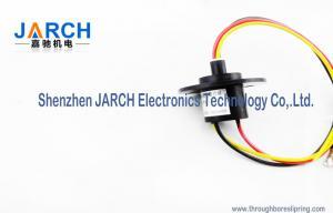 China definição do anel deslizante da cápsula dos fios da miniatura 6 de 12.4mm para a velocidade máxima elétrica de equipamento de teste: 250RPM on sale