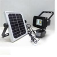 China 5w  Solar Power Motion Sensor Outdoor Led Flood Light on sale