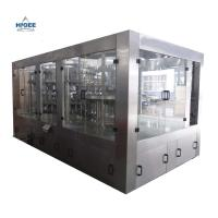 Bottled Juice Beverage Hot Filling Machine