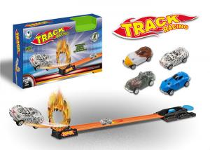 China Hot Wheels Toy Race Car Track Sets With Metal Alloy Racer Animal Style Car on sale