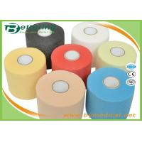 China Elastic Adhesive Athletic Underwrap Tape , Polyurethane Medical Foam Tape Breathable on sale