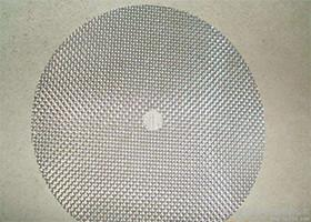 China AISI304/316 Round Mesh Filter Disc , Washable Aluminum Air Filters on sale