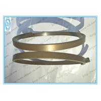 China Joints pneumatiques de cylindre de bouteur, segments de piston hydrauliques en bronze de PTFE on sale