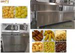 Double Screw 200kg/Hr Puff Snack Food Extruder Machine