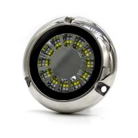China Strobe Flash LED Dual Color Underwater Boat Lights Stainless Steel Casing on sale