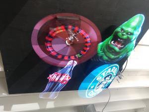 Hypervan 3D Holographic Display Hologram Plyer Led Fan High