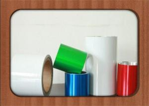 China 8011 H14 Color Coated Aluminium Coil For Aluminium Flip Off Seals , Vial Seals , PP Caps on sale