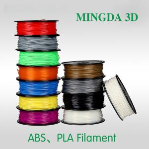 China MINGDA ABS&PLA 3D Printer Filament in 1.75mm/3.0mm on sale