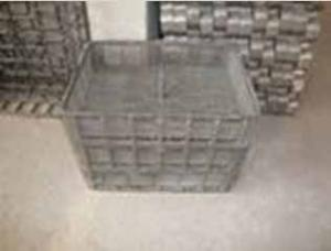 China Wear Resistant Casting / Alloy Steel Castings Mesh Baskets on sale