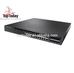 China WS-C3650-24PS-S 24 Port PoE network switch on sale