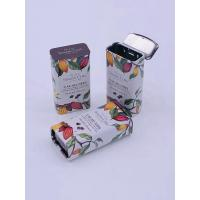 China Rectangular Tin Containers For Mint / Biscuits 4c Offset Printing on sale