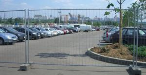 China 42 micros ASTM4687-2007 Cheap Temporary Fence, Temporary Metal Fence Panels, Removable Fence on sale