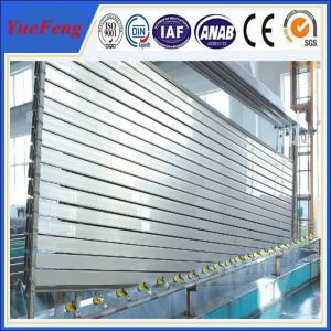 China cnc industrial aluminum powder coating, aluminum cutting profile made of aluminum 6061 t6 on sale