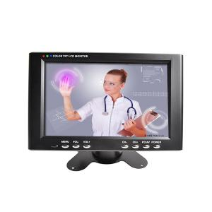 China Desktop Lcd Touchscreen Monitor 7 Inch Plastic Resistive Touch , 200:1 Contrast Ratio on sale