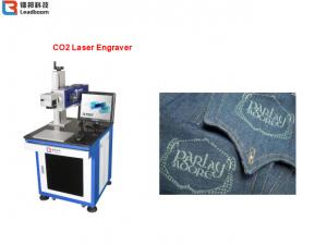 China 0 |広告印/印刷版のための30W二酸化炭素レーザーの彫版機械空冷 on sale
