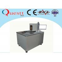 Automatic Optical Fiber Laser Marking Machine For Saw Blade Etching , Jig Customized