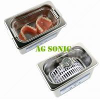 800ml Dental Sonic Bath Cleaner With SUS Basket , Ultrasonic Teeth Cleaning Machine