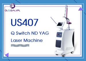China Q- Switch ND YAG Laser Machine Color Tattoo Removal 1064nm 532nm on sale
