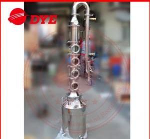 China 50L / 100L Mini Steam Home Distillation Equipment Semi-Automatic CE on sale