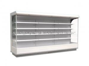 China Remote Open Deck Multideck Chillers with Low Front - Maryland Width 1120mm on sale