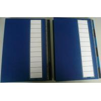 A4 Colours Index File Folders With Elastic Band