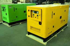 China Three phases Four wires 30kw electric generating set  by F4L912 Engine on sale