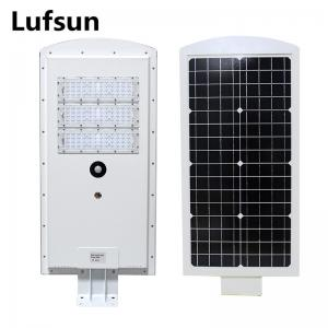 China 40W Solar Panel Powered Street Lights High Brightness Philips SMD3030 chips Auto Control on sale