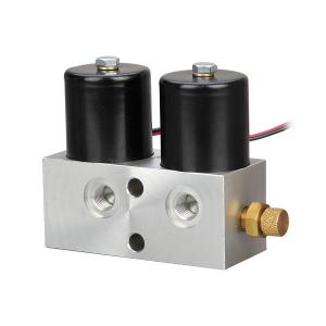 China High Pressure Air Flow Control Valve DC12V / DC24V Secondary Shunt Double Coils on sale