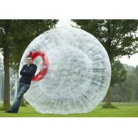 Inflatable Zorb Ball 2.5m Diameter Blow Up Pool Floats , Large Inflatable Water Toys