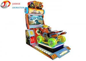 China 42 Inches Display 4D Arcade Game Machines Crazy Four Wheeler Coin Operated on sale