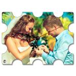 Anchor Wooden Ship Wheel Sublimation Wall Clock For Wedding Party Decoration